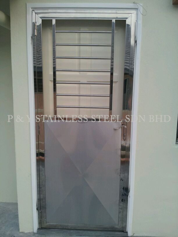 P U0026 Y Stainless Steel Sdn Bhd   Gate U0026 Doors   Double Leaf Door ...