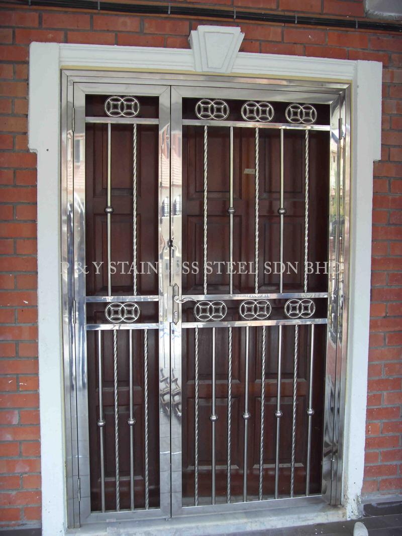 SDC 10505 & P u0026 Y Stainless Steel Sdn Bhd | Gate u0026 Doors | Double Leaf Door ...